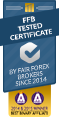 FairBinaryOptions Broker Certificate