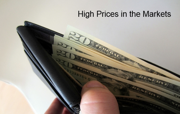 Trading at High Prices